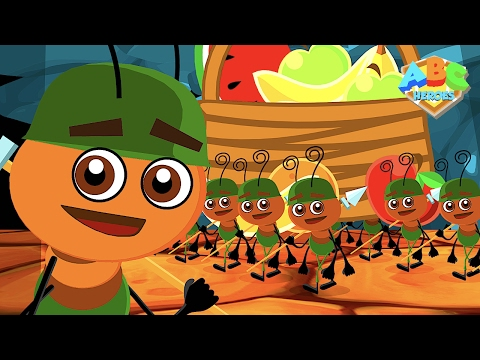Ants Go Marching | Nursery Rhymes Songs Collection | Kindergarten Kids Counting Song by ABC Heroes