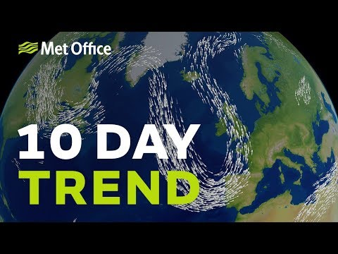 10 Day trend - will the hot weather return?