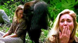 When This Woman Got Too Close to a Gorilla and The Unexpected Happened