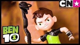 Brinquedos de Ben 10 | O Templo Proibido | Ben 10 em Português Brasil | Cartoon Network