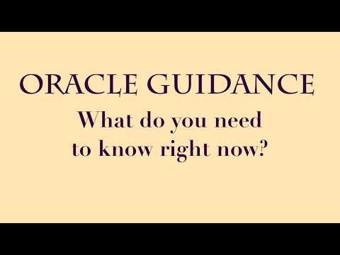 Pick a Card: Oracle Guidance | What do you need to know now?| What should I do?| General Guidance