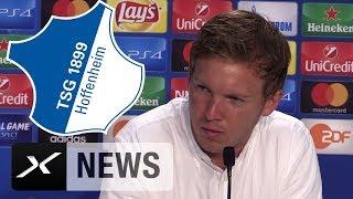 "CL-Quali: Julian Nagelsmann: ""Klarere Chancen gehabt"" | Hoffenheim - Liverpool"