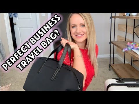 """Away Travel Everywhere Bag as a """"Personal Item""""? My review and coupon"""