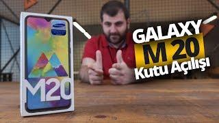 Merakla Beklenen Samsung Galaxy M20 Kutusundan Çıkıyor!