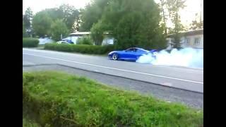 Toyota Supra Burn Out