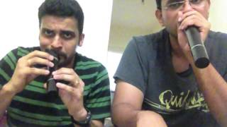Beatboxing of English songs on indian tunes