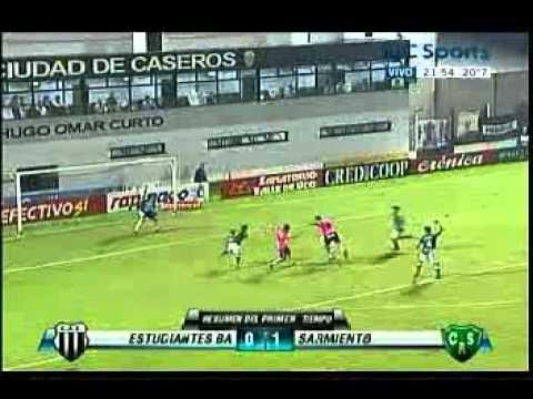 Estudiantes (Ba) 0 - Sarmiento (Ju) 1 - Fecha 34 - B Metropolitana