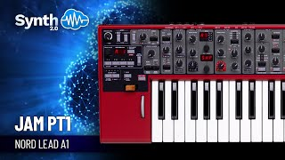 Clavia Nord Lead 4 jamming part 1 by S4K TEAM ( Space4Keys Keyboard Solo )