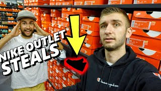 NIKE OUTLET SNEAKER SHOPPING STEALS! $1000 of NEW PICKUPS...