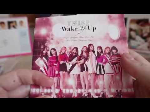 Twice Wake Me Up Album Unboxing All Versions Youtube