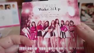 TWICE Wake Me Up Album Unboxing ALL VERSIONS