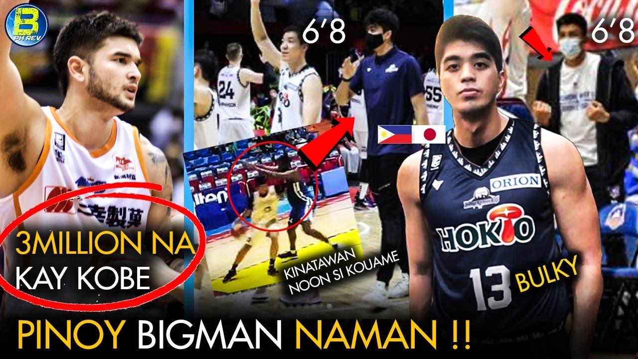 PINOY BIGMAN naman sa BLeague   PUMALO sa Tatlong MILYON ang Debut Game ni Kobe Paras