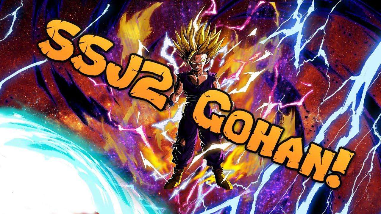 Super Saiyan 2 Gohan Dragon Ball Z Wallpaper Time Lapse Youtube