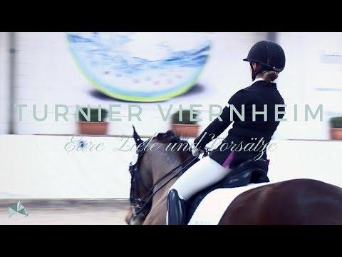 Turnier in Viernheim | Ziele und Vorsätze für die Saison | Equine Stories