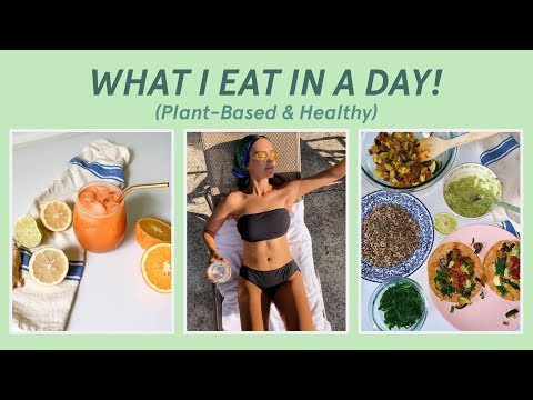 WHAT A HEALTH COACH EATS IN A DAY!! (Vegan, Healthy, IF) thumbnail