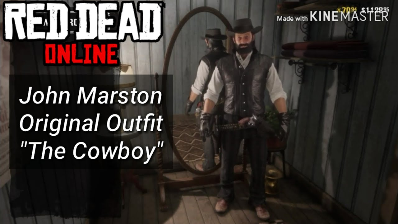 Red Dead Redemption 2 Online John Marston Original Outfit The Cowboy