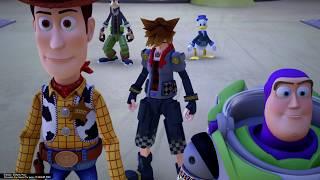 王國之心3 玩具總動員世界 1級臨界難度 無傷 飛碟BOSS(Level 1 Critical Mode)