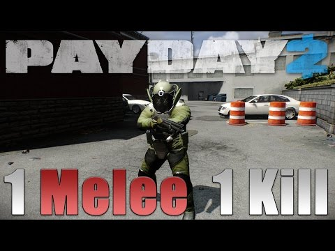 One MELEE Dozer killer build! (Payday 2 One Down)