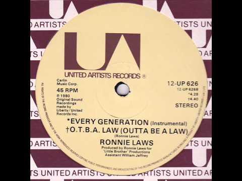 Jazz Funk - Ronnie Laws - O.T.B.A. Law