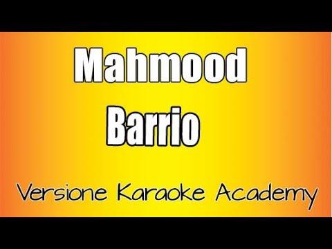 Mahmood  - Barrio  e Karaoke Academy Italia
