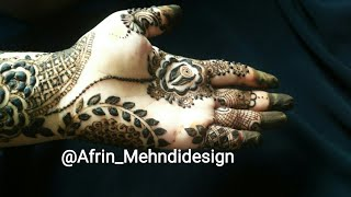 Ramzan special Mehndi #3 design /eid ul fitr henna मेहंदी designs /Attractive stylish Eid mehndi DIY