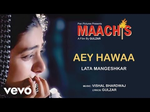 Aey Hawaa - Maachis| Lata Mangeshkar | Official Audio Song