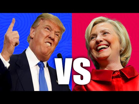 TOP 10 Donald Trump & Hilary Clinton Moments - Presidential Campaign (2016)