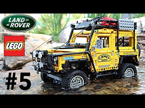 Very Cool Lego Land Rover Defender Camel Trophy Experience
