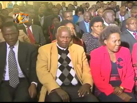 Section of MPs hail signing into law of  the political parties Act.