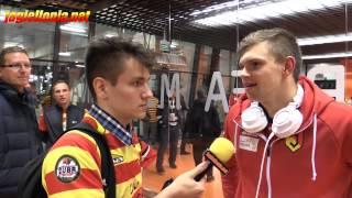 Bartłomiej Drągowski po meczu z Wisłą (23.05.2015)