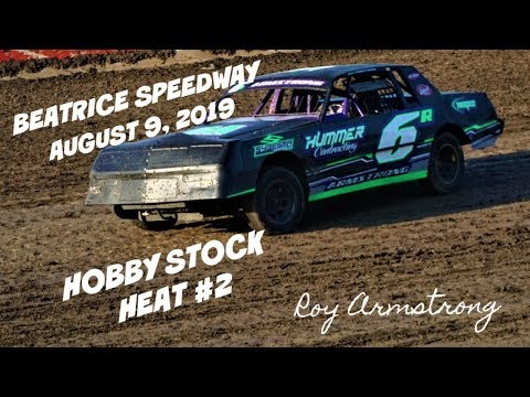 08/09/2019 Beatrice Speedway Hobby Stock Heat #2