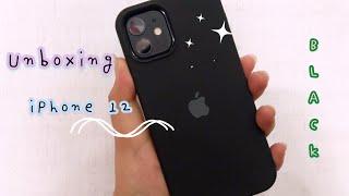 🍎 iPhone 12 (black) Unboxing