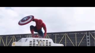 Marvel's Captain America: Civil War - Trailer 2 (spider man entry ) only 10 second  short  OFFICAL