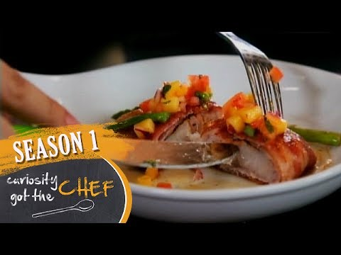 Bacon-Wrapped Fish Fillet With Mango Salsa | Curiosity Got The Chef Season 1