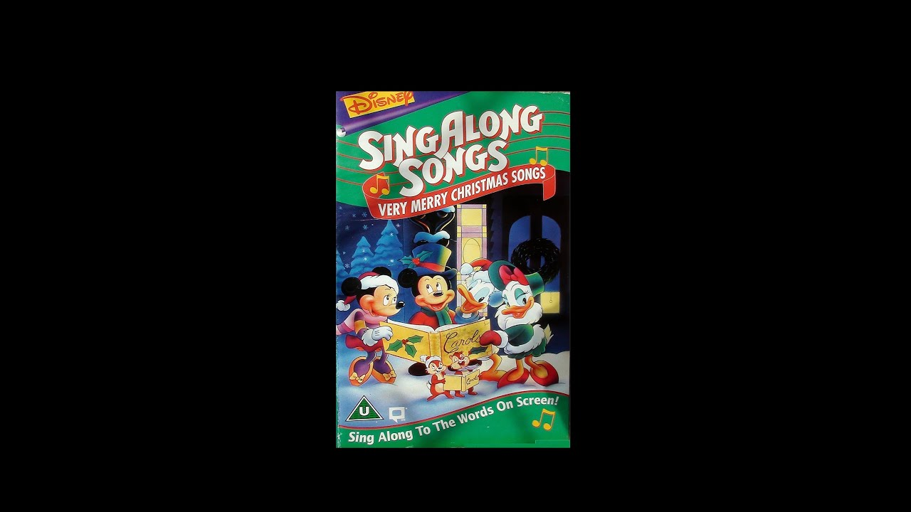 Digitized opening to Disney's SingAlong songs: Very Merry ...