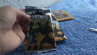 Fortnite Card Pack Opening