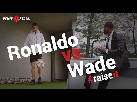 Cristiano Ronaldo vs Dwyane Wade - Drone Challenge - #RaiseIt - 동영상