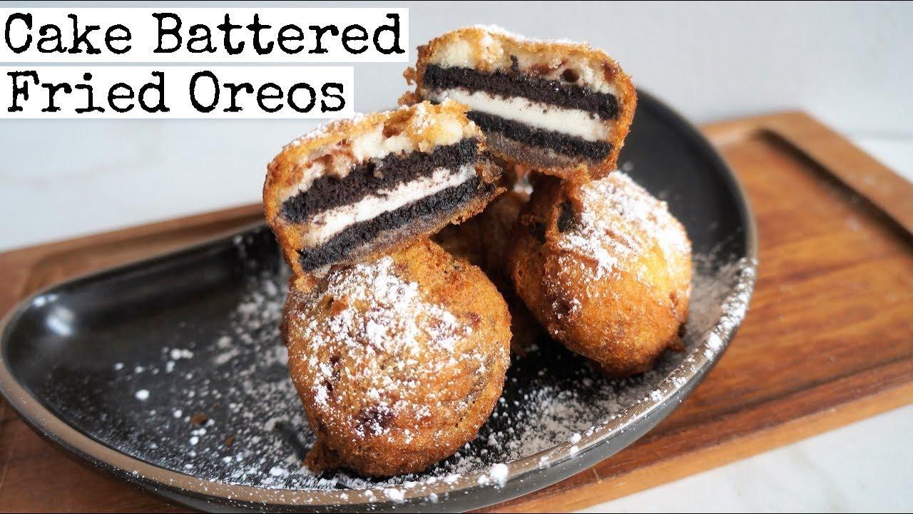 Cake Batter Oreos