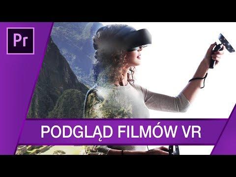 Podgląd filmów VR, Immersive Environment ▪ Adobe Premiere #59 | Poradnik ▪ Tutorial