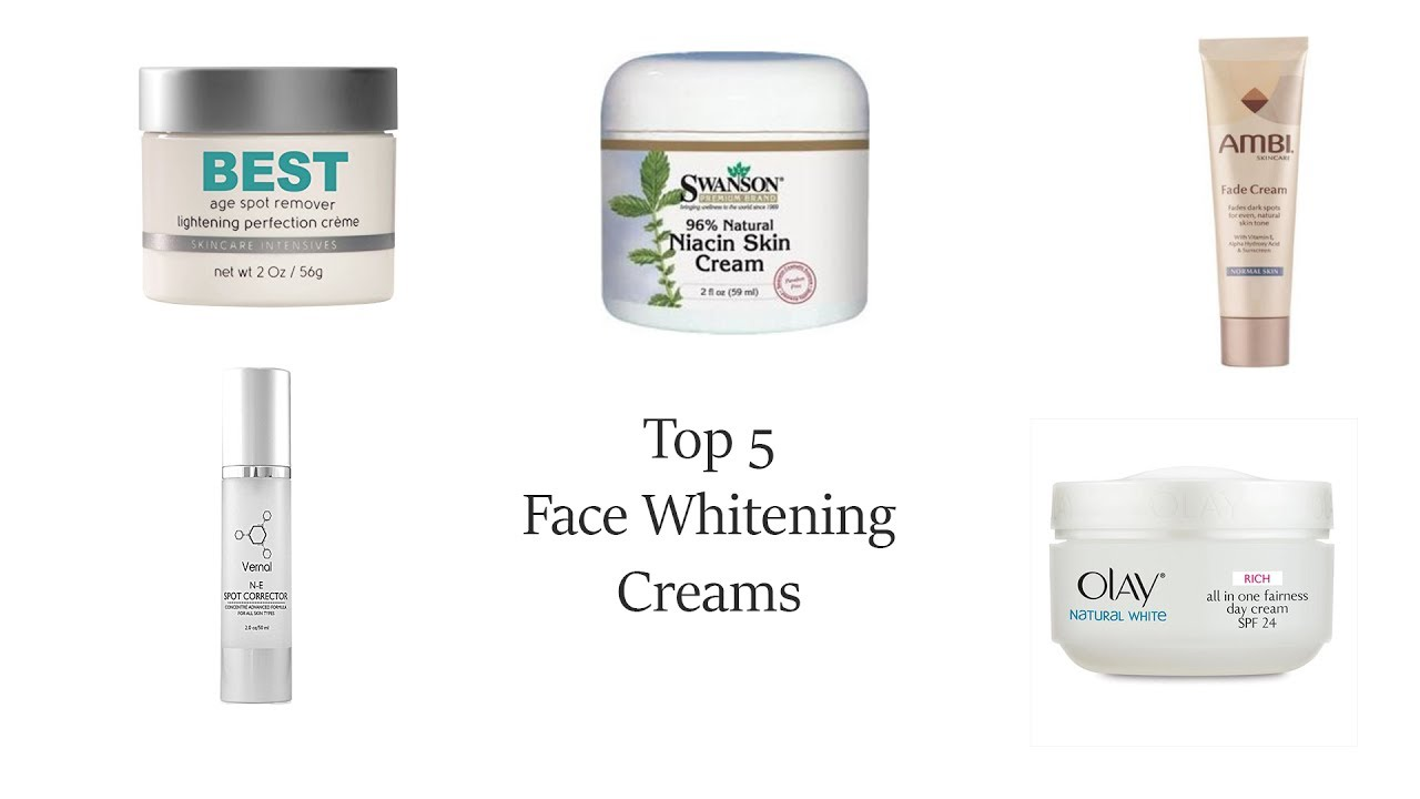 Best Skin Care Cream Top 5 Best Skin Whitening Creams In The World