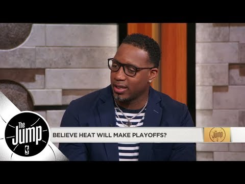 Tracy McGrady on Dwyane Wade: He's playing inspired basketball | The Jump | ESPN