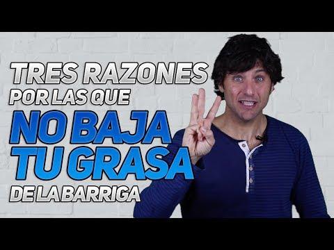 3 Razones Por Qué No Baja Tu Grasa De La Barriga! 😯