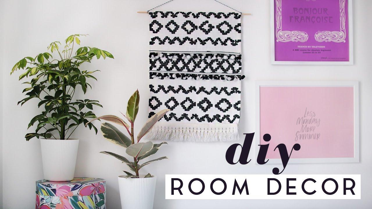 DIY Room Decor Ideas For Spring | DIY Tapestry & Home Decor 2017 ...