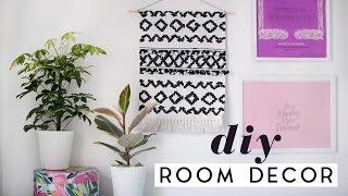 DIY Room Decor Ideas For Spring | DIY Tapestry & Home Decor 2017
