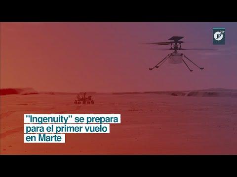 """""""Ingenuity"""" se prepara para el primer vuelo en Marte"""