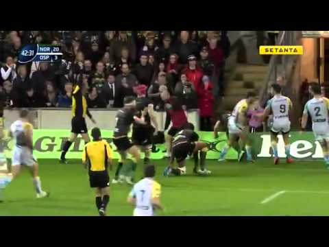 Northampton Saints v Ospreys European Rugby Champions Cup   Round 2 Full Match
