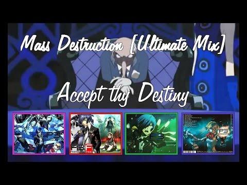 Persona 3 - Mass Destruction [Ultimate Mix] - Lyrics [HQ] - OST Compilation