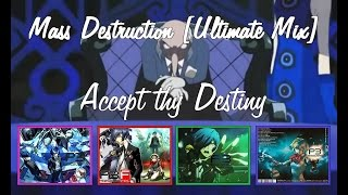 Persona 3 - Mass Destruction [Ultimate Mix] - Lyrics [HQ] - OST Compilation
