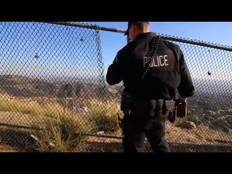 Hollywood Sign, Police & Snakes