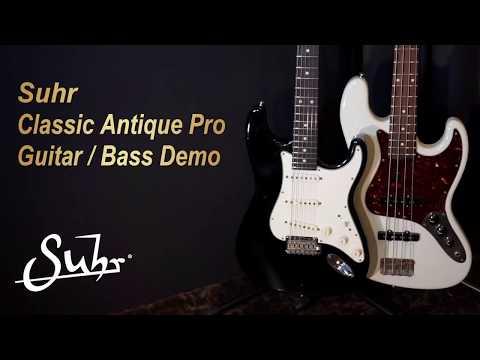 [MusicForce] Suhr Classic Antique Pro Guitar / Bass Demo